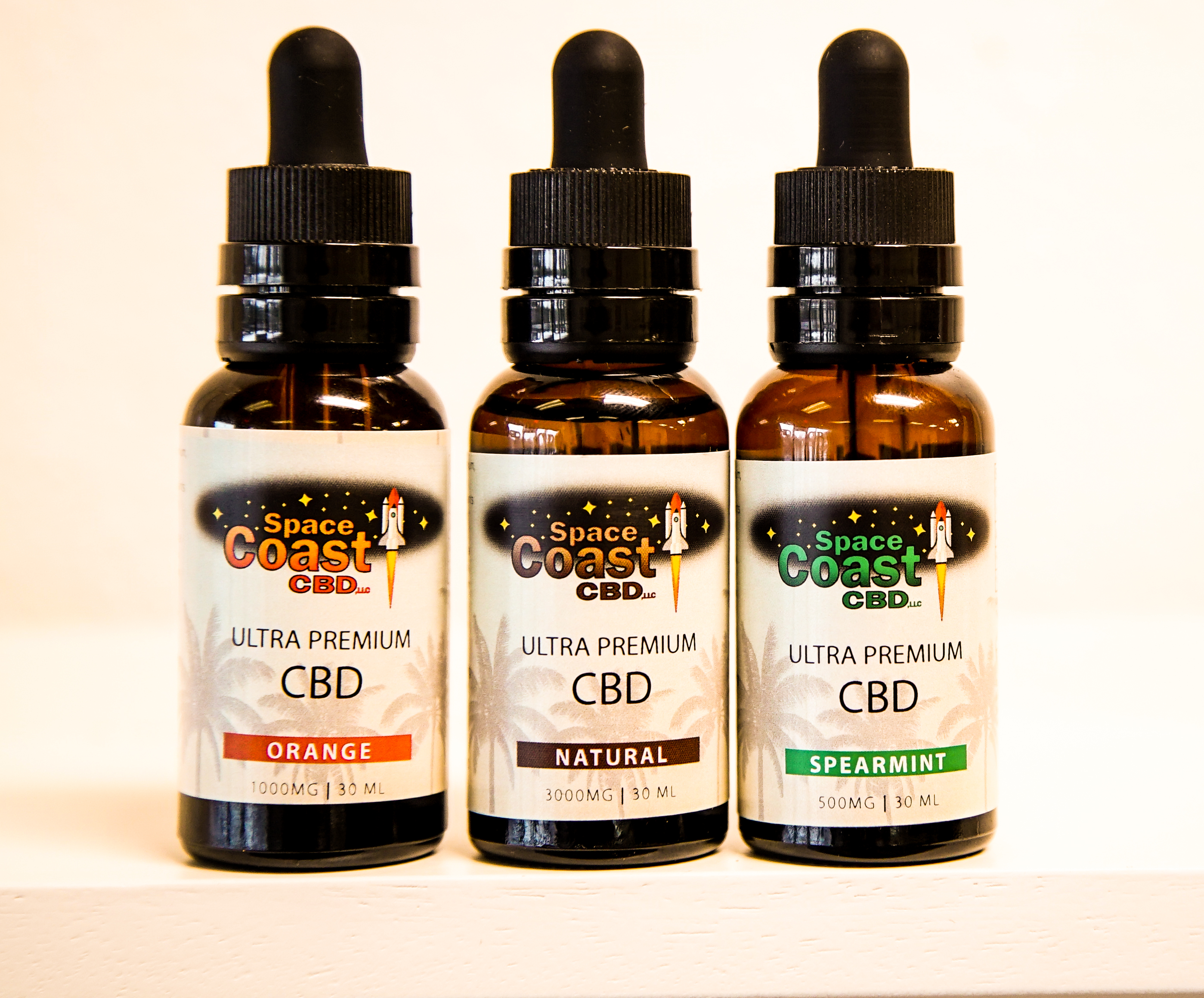CBD Oil Bottles Slider