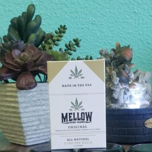 4 different strains of Flower. In 2 grams jars for $20.00 We also have a pack of 5 1/2 gram pre-rolled hemp cigarettes! Can help you relax, focus, and alleviate pain!