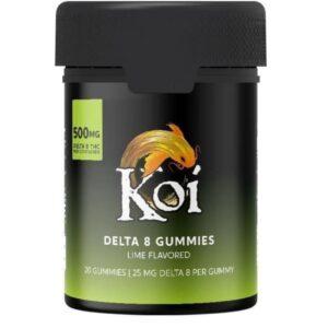 Koi CBD's Delta-8 THC gummies